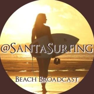 SantaSurfing