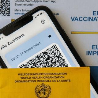 Impfpass Impfausweis Corona COVID QR Code Kaufen