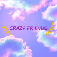 😎 crazy friends 💜